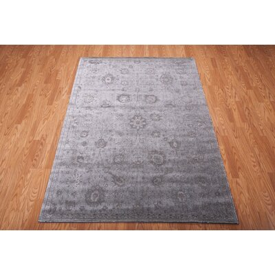 Diona Graphite Area Rug Rug Size: Rectangle 93 x 129