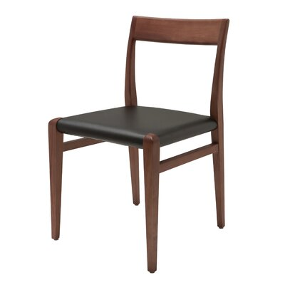 Dicicco Side Chair Upholstery: Black