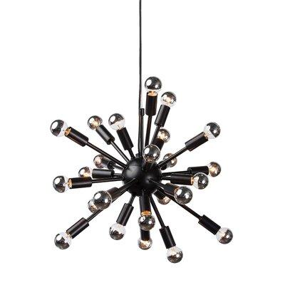 Carmona Sputnik 24-Light Pendant Finish: Black