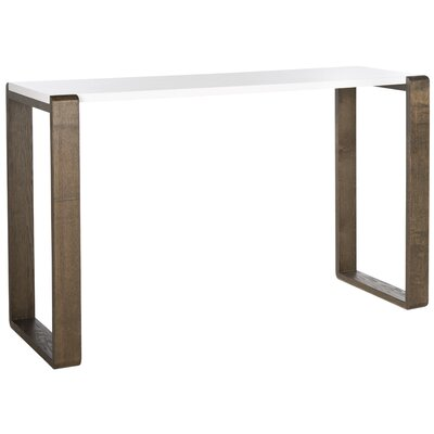 Gayman Console Table Finish: Dark Brown