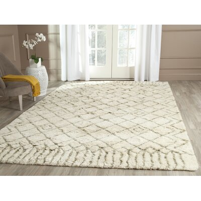 Camacho Beige/Gray Area Rug Rug Size: Rectangle 5 x 8