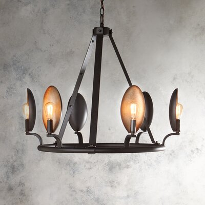 Bernal 6-Light Candle-Style Chandelier