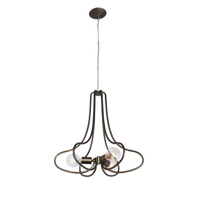 Gagliardi 3-Light Sputnik Chandelier