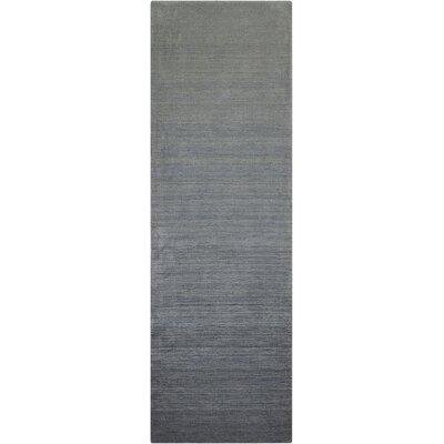 Fidel Handmade Smoke Brook Area Rug Rug Size: Runner 23 x 76