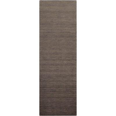 Fidel Handmade Slate Area Rug Rug Size: Runner 23 x 76
