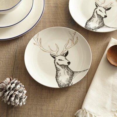 Dunkerton Reindeer Plates