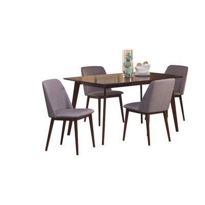 Lykos 5 Piece Dining Set