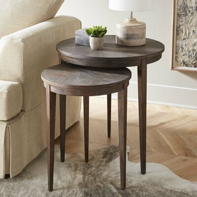 Maiden Lane 2 Piece Nesting Tables