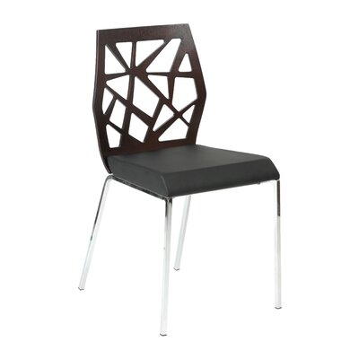 Malvern Dining Chair Color: Wenge