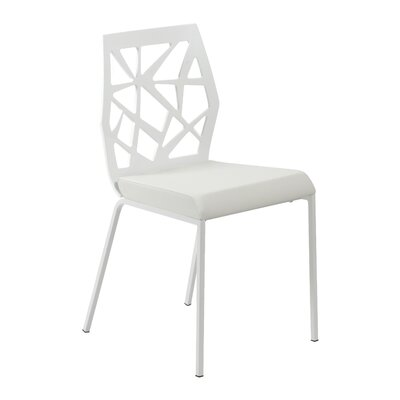 Malvern Dining Chair Color: Alabaster