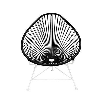 Canela Papasan Chair Finish: Black, Finish: Black
