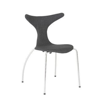 Merope Side Chair Upholstery: Dark Gray