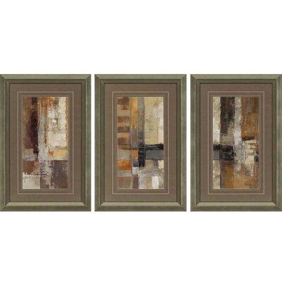 3-Piece Anodyne Framed Graphic Art Set