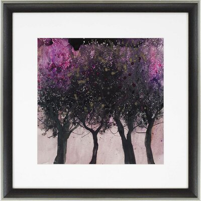 'Seasonal Tree I' Framed Painting Print