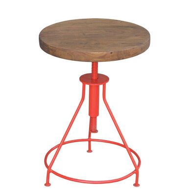 Giorgi End Table Finish: Red