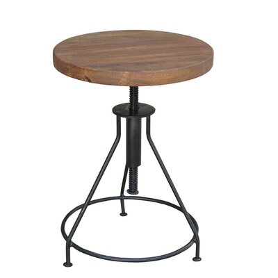 Giorgi End Table Finish: Black
