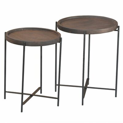 Crocker 2 Piece Nesting Tables