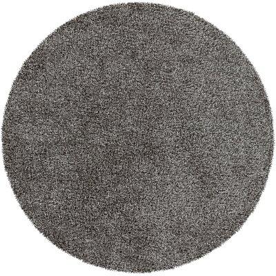 Mchaney Hand-Tufted Beige Area Rug Rug Size: Round 8