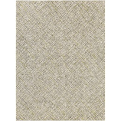 Mcmann Light Gray Area Rug Rug Size: Rectangle 76 x 106