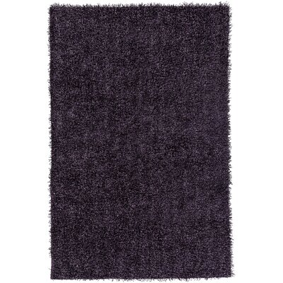 Mchaney Hand-Tufted Purple Area Rug Rug Size: Round 6