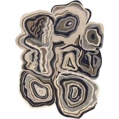 Carlucci Gypsy Brown Geometric Area Rug Rug Size: 8 x 11