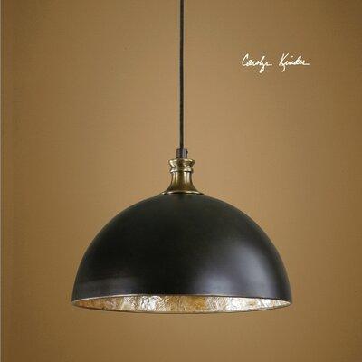 Vanhoose 1-Light Bowl Pendant