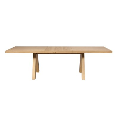 Opperman Extendable Dining Table Base Finish: Honey, Top Finish: Honey