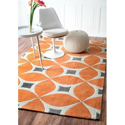 Anya Area Rug in Orange