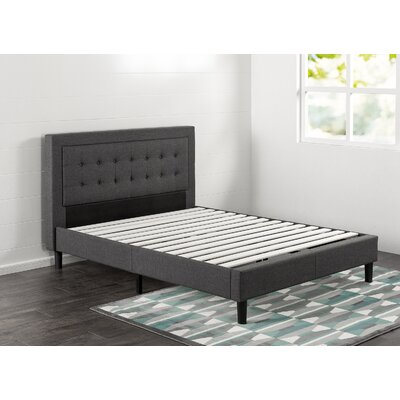 Vannatta Upholstered Platform Bed Size: Queen