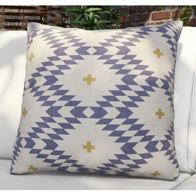 Flemings Native Natural Plus Night Outdoor Throw Pillow Size: 16 H x 16 W x 4 D