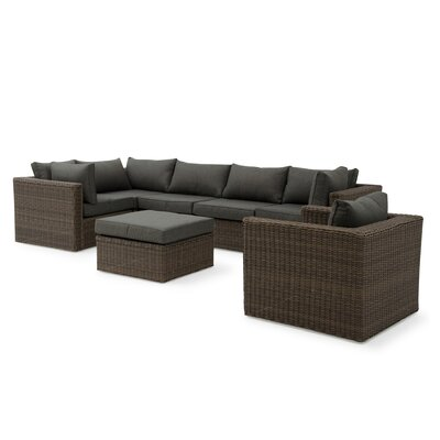 Markowitz 4 Piece Deep Seating Group with Cushion