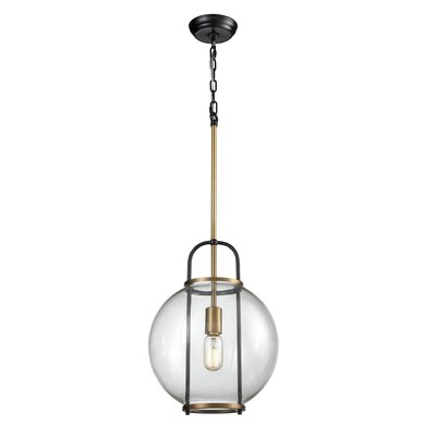 Vasbinder 1-Light Globe Pendant
