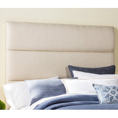Lytle Upholstered Panel Headboard Size: Full, Upholstery: Ivory