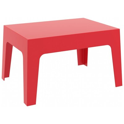 Bence Coffee Table Finish: Red