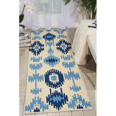 Biondi Handmade Indigo Area Rug Rug Size: Runner 23 x 8
