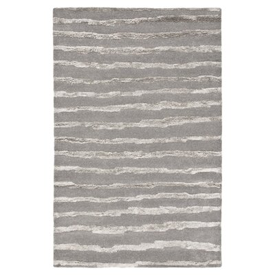 Avonmore Gray Striped Area Rug Rug Size: 9 x 12
