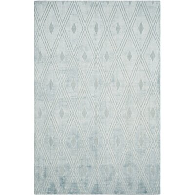 Maxim Hand-Woven Blue Area Rug Rug Size: Rectangle 8 x 10