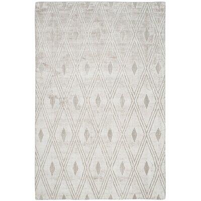 Maxim Hand-Woven Gray Area Rug Rug Size: Rectangle 6' x 9'
