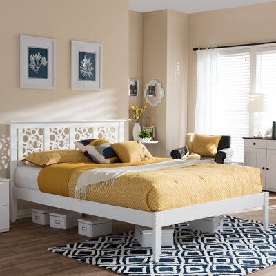 Smidt Platform Bed Size: King