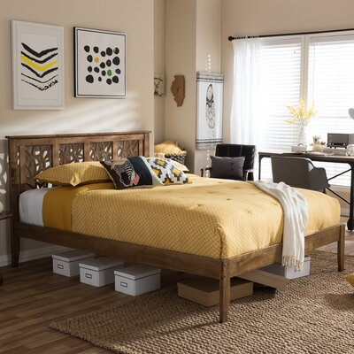 Smitherman Platform Bed Size: Queen