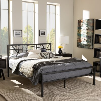 Smyth Full/Double Platform Bed Size: Queen