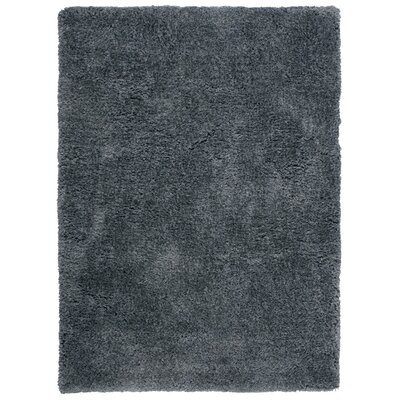 Vandiver Hand-Tufted Dark Grey Area Rug Rug Size: 76 x 96