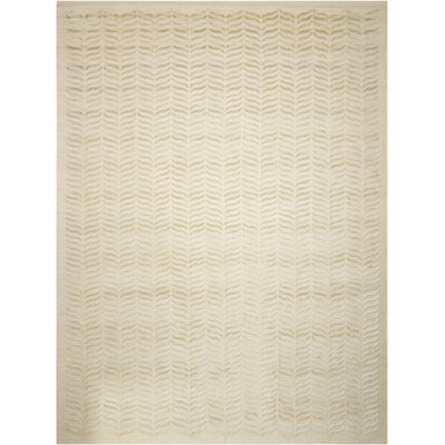 Rensselear Light Green Area Rug Rug Size: 86 x 116