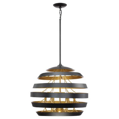 Vizcaino 6-Light Globe Pendant