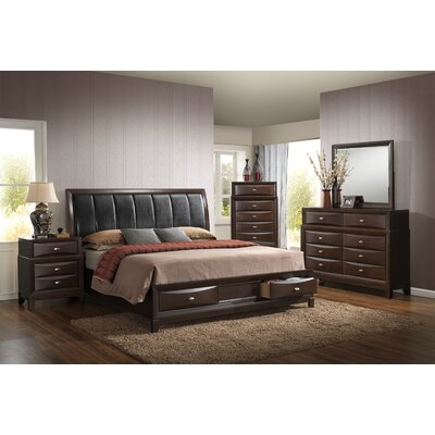 Baze Panel Customizable Bedroom Set