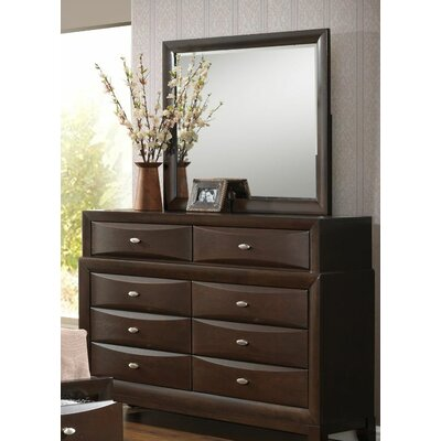 Baze 8 Drawer Dresser with Mirror