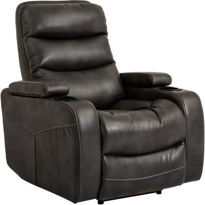 Dimas Power Recliner Color: Flint