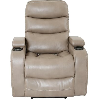 Dimas Power Recliner Color: Linen