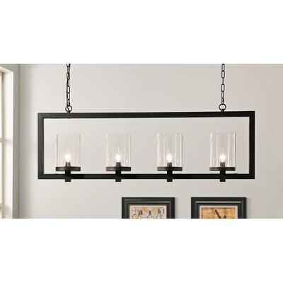 Vogel 4-Light Candle-Style Chandelier