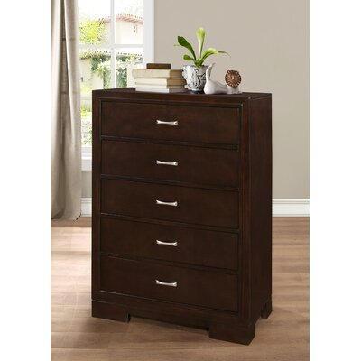 Voigt 5 Drawer Chest